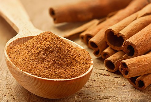 Try a sprinkle of cinnamon on your cereal or cup of hot cocoa.