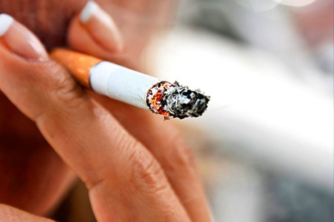 Quit smoking to reduce risks to your body and heart.