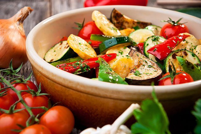 Eat 3 to 5 servings of vegetables a day to help control your blood pressure.