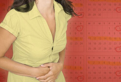 Photo of woman and calendar.