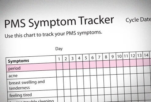 Photo of PMS tracker.