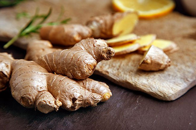 Ginger has demonstrated anti-inflammatory properties in lab studies.