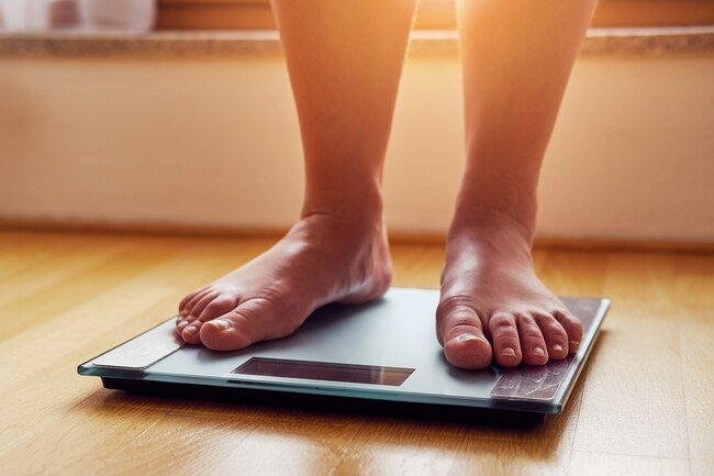 You can calculate BMI online with your height and weight.