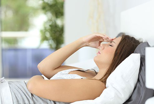 Allergy symptoms often get worse before a woman's period.