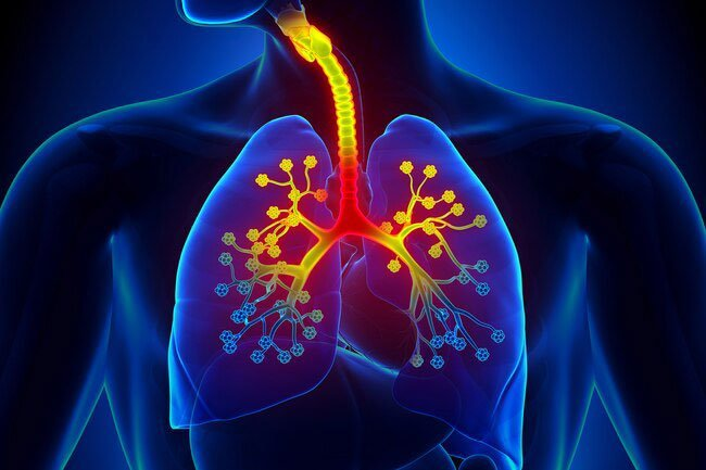 This isn't typically a symptom of a cold or the flu, but feeling like you can't breathe is common with COVID-19.