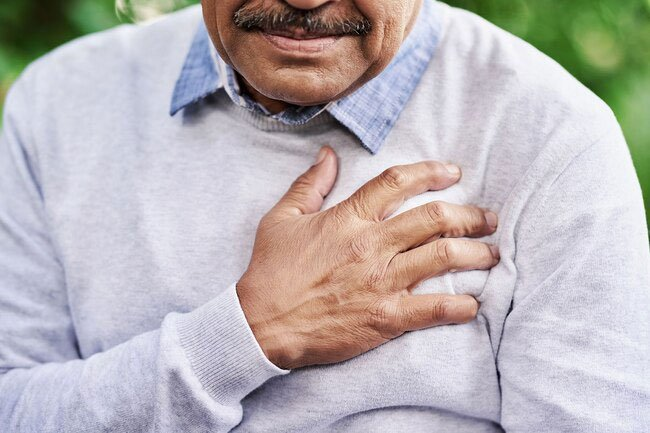 COVID-19 can affect your heart too. It can cause it to beat fast or flutter, or pound.