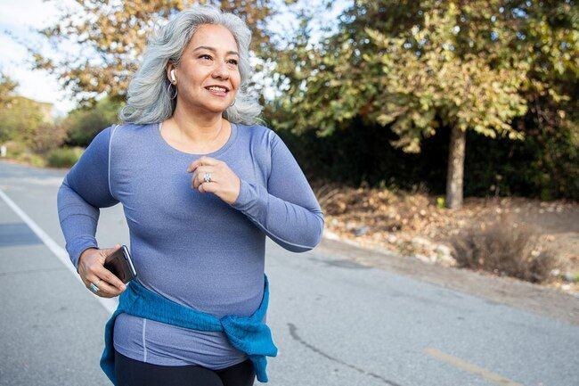 When you exercise regularly, your body responds by adding more bone.