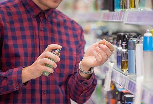 Some fragrances contribute to contact dermatitis.