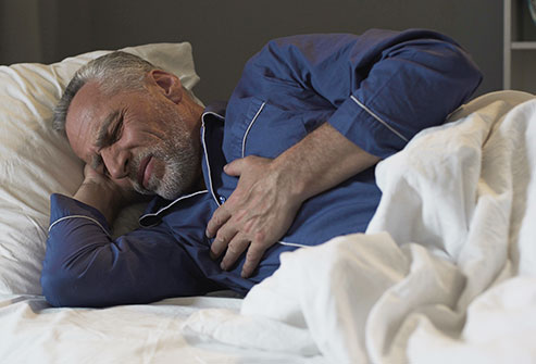 People with congestive heart failure avoid sleeping on their backs and their left sides.