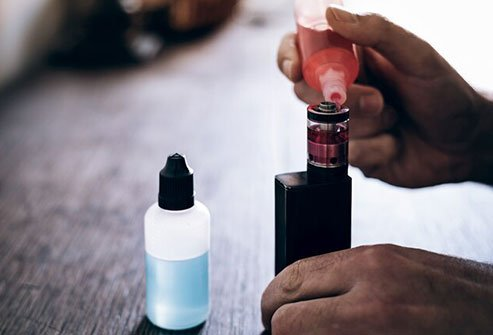 The FDA regulates e-liquids sold in stores, but not ones you buy on the street.