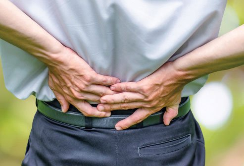 The most common type of stenosis impacts the lumbar area of your lower back.