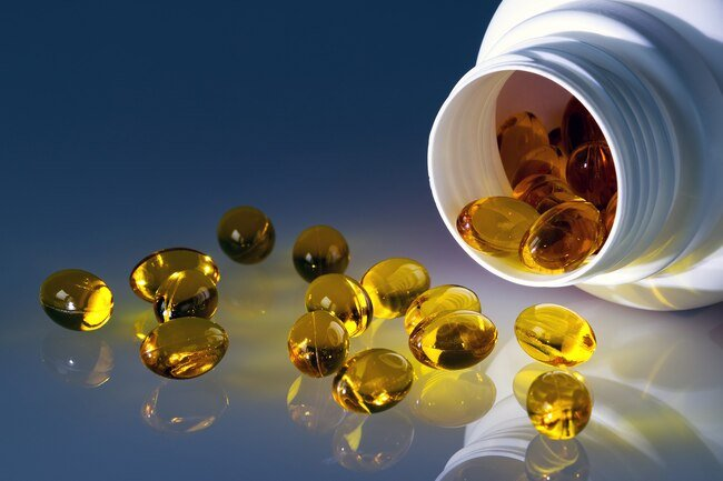 These amber-colored oily supplements block proteins and fatty acids that can turn on inflammation.