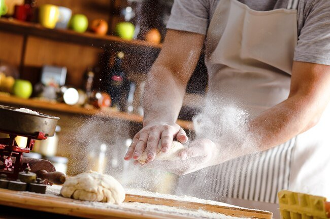 Inhaling flour during baking may cause baker's asthma.