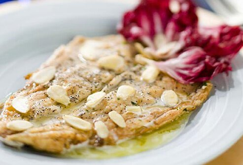 Photo of tuscan trout.