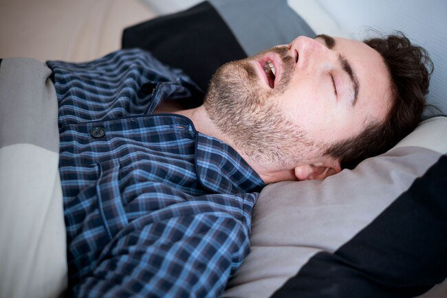 Mouth breathing and snoring may lead to gas.