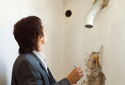 Radon is a radioactive odorless gas that can leak into your home if it has cracks, a basement, or a crawlspace.