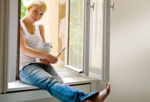 Household paints are full of volatile organic compounds, also known as VOCs that can cause health problems.