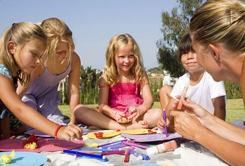 Arts and crafts supplies such as paints, glues, and markers can expose you to unwanted fumes.