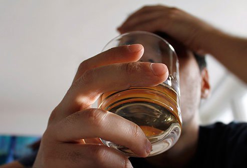Excessive alcohol consumption may result in liver disease and swelling.