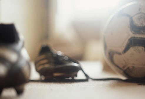 Photo of athletic equipment.