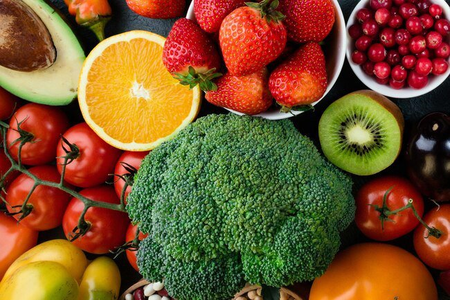 Fresh fruits, veggies, nuts and seeds have zinc, beta-carotene, vitamins A, C, and E, you need for a healthy immune system.