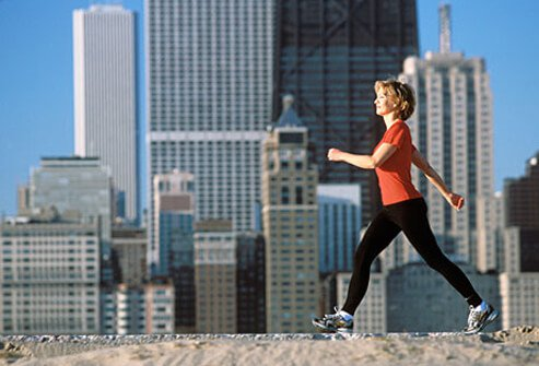 Exercise improves the function of protective white blood cells.