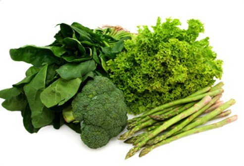 Dark green vegetables are an excellent source of vitamins A and C.