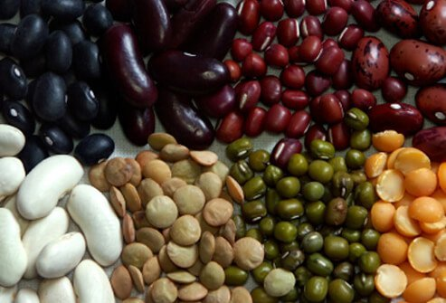 Beans are a great source of protein, iron, zinc, and biotin.