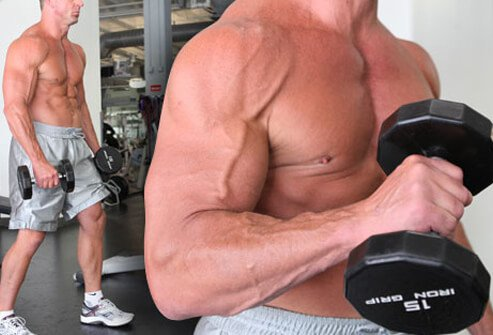 Start with this move to build biceps you can show off in short sleeves.