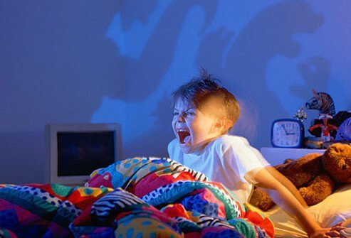 Kids occasionally have bad dreams.