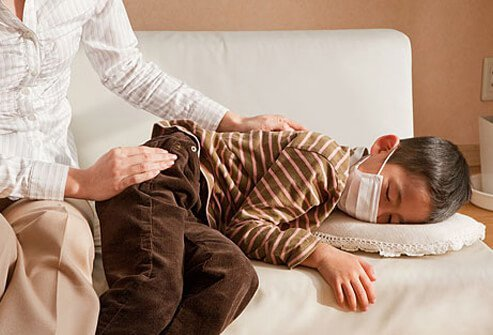 Some health problems can keep kids from sleeping.
