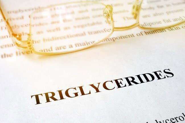 Triglycerides can harden your arteries.