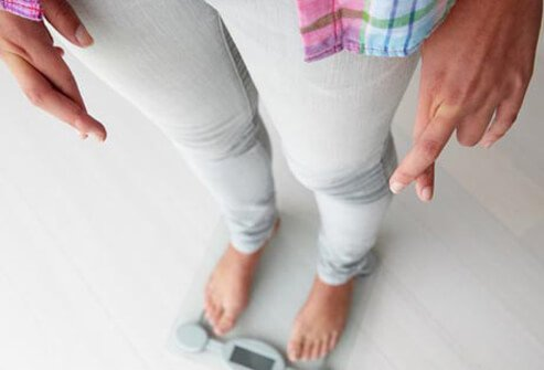 People with bulimia have an intense fear of gaining weight.