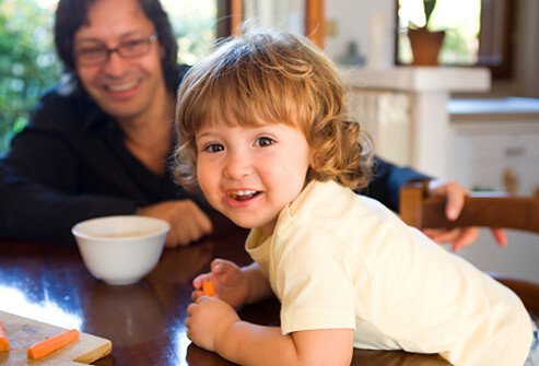 It is safe and beneficial to feed a child a vegetarian diet just make sure to provide foods with adequate fat.