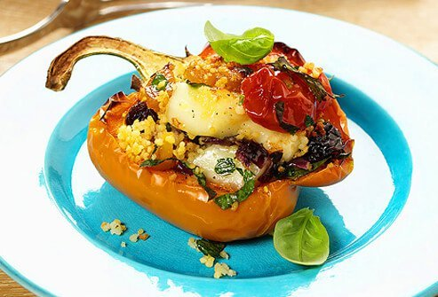 Vegetarian stuffed peppers are a great dish to enjoy when you adopt a healthy vegetarian diet.