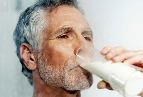 You need 20 percent more calcium as you get older.