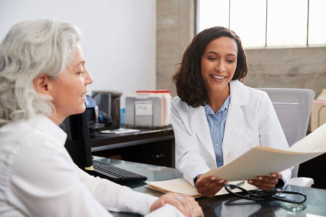 You should see your doctor for a physical exam every year after age 50.
