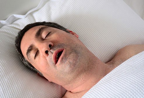 Snoring is just one of many bad breath causes.