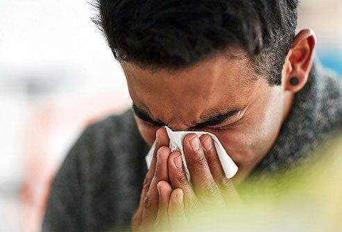 Colds, coughs, and sinus infections can send mucus filled with bacteria through your nose and mouth.