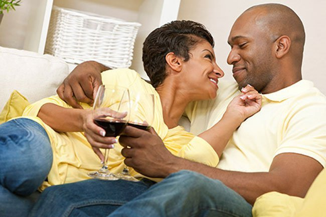 Women who had one or two glasses of red wine a day said they had more desire, were aroused more easily, and had more sexual satisfaction.