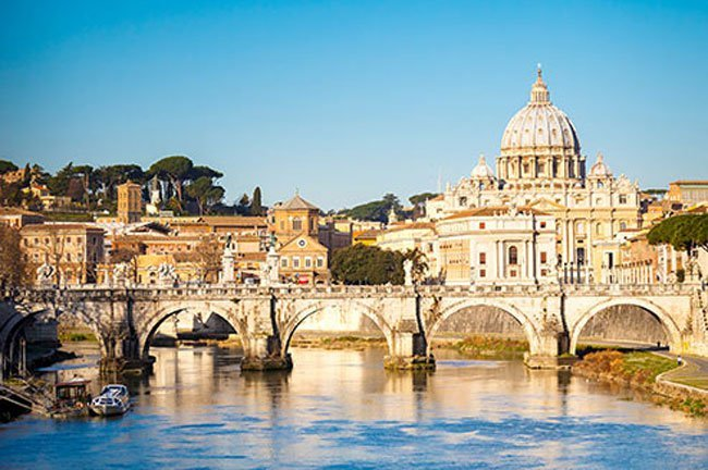 Citizens of Vatican City in Rome drink the most wine per year!