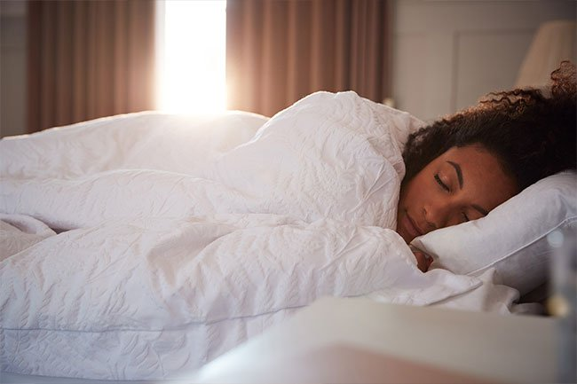 The best thing is to make sure you're getting 7 to 8 hours of quality sleep every night.