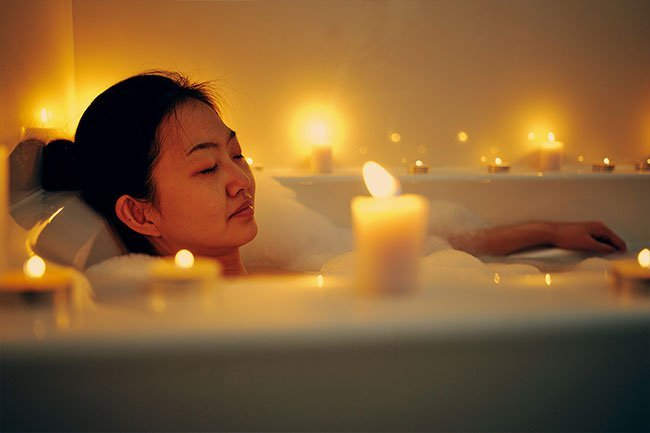 A bedtime ritual can get your body ready for sleep.