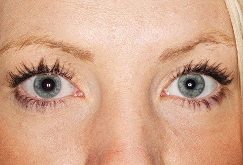 Anisocoria is a term that means the pupils are not the same size.