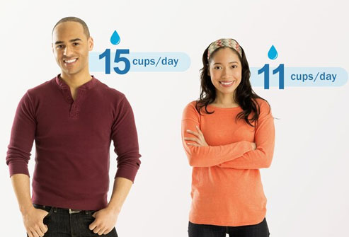 Adults may get approximately 20 to 30 percent of their daily water intake from food.