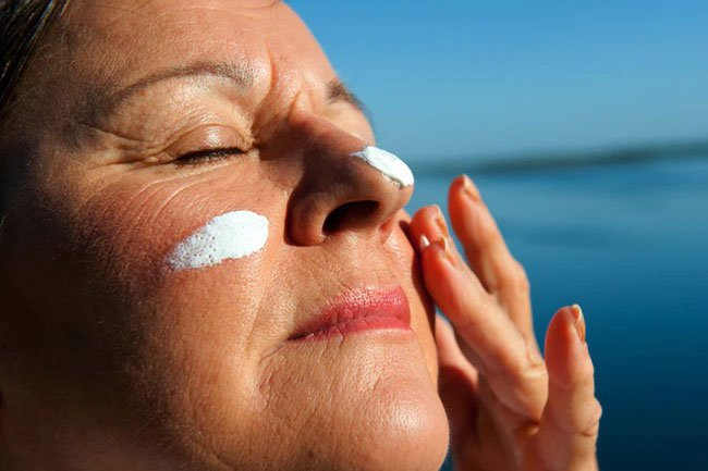 You may see age spots and will need to watch for signs of skin cancer.