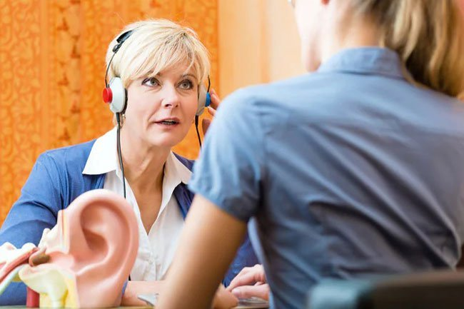 Up to 40% of people over the age of 50 have some hearing loss.