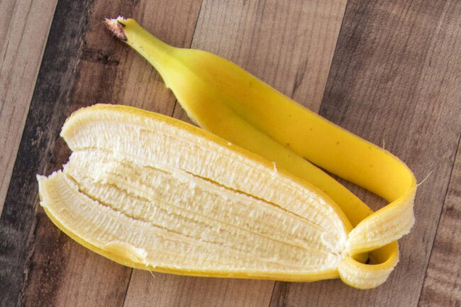 Banana peels have protective chemicals in them called antioxidants.