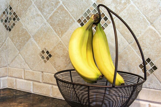 Keep your bananas in a cool dry place.