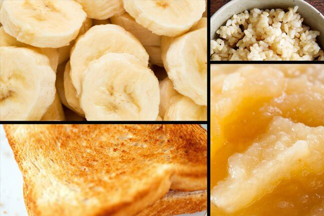 Bananas put the B in the easy-to-digest BRAT diet.